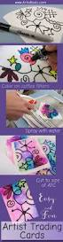 how to make artist trading cards using coffee filters artist