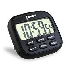 minuterie de cuisine luoem minuterie de cuisine magnétique numérique 24 heures minuterie