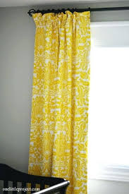 Yellow Window Curtains Yellow And White Curtains U2013 Teawing Co