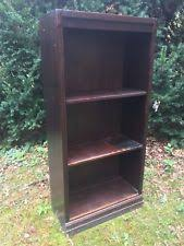 Dark Wood Bookshelves by Vintage Bookcase Ebay