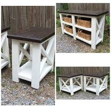 Build Wooden End Table by Best 25 Ana White Furniture Ideas On Pinterest Ana White Anna