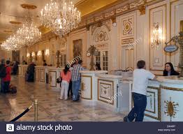 Hotel Lobby Reception Desk by Nevada Las Vegas The Strip South Las Vegas Boulevard Paris Las
