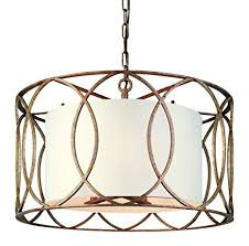 sausalito 25 wide silver gold pendant light troy lighting sausalito 5 light chandelier silver gold finish with