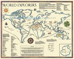 World Map Posters by World Explorers Map Maps For The Classroom