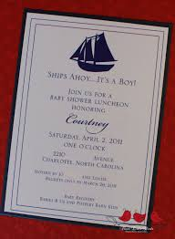 ships ahoy u2026it u0027s a boy u2013 baby shower invitation three little