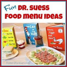 dr seuss party food dr seuss food menu ideas and party snacks