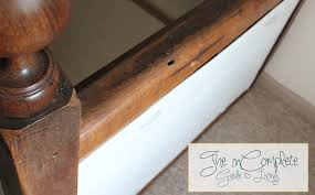 Diy Banister Kid Proofing The Banister From Incomplete Guide To Living