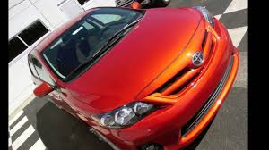 toyota corolla s special edition 2013 2013 toyota corolla s lava special edition for sale at