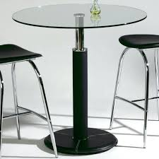 Rectangular Bistro Table Glass Top Pub Table Imports Glass Top Pub Table With Chrome