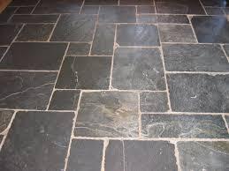 Cleaning Old Tile Floors Bathroom by Slate Flagstone Floor Home Styles Pinterest Slate Flagstone