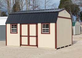 Mini Barns Michigan Classic Lofted Garden Barn Millers Mini Barns