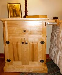How To Build A Nightstand With A Hidden Drawer Plans Diy Free
