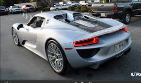 porsche supercar 918 porsche 918 spyder driving in electric mode u0026 exhaust sound