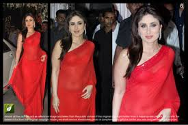 bollywood exclusive designer kareena kapoor saree designer party