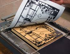 letterpress printing gcse bitesize printing 2 letterpress lithography and gravure
