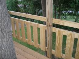 tree fort deck u0026 railing village custom furniture
