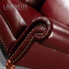 Maroon Leather Sofa Studded Leather Furniture Studded Leather Furniture Suppliers And