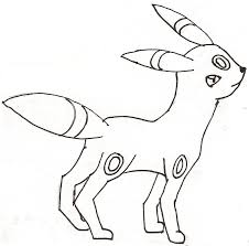 pokemon umbreon drawing by 1ge1co1 on deviantart