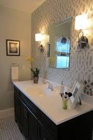 9 ways to make a half bath feel whole half baths wallpaper and bath