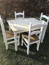 Shabby Chic Dining Table And Chairs Shabby Chic Dining Table Proportionfit Info