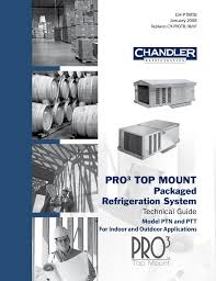 heatcraft refrigeration products pro3 top mount ptt user manual