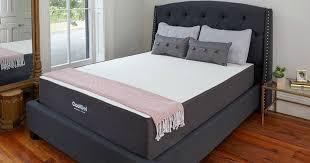 whoa gel memory foam king mattress only 222 99 on amazon