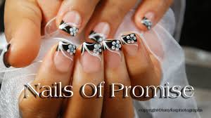nail designs black tip gallery for gt black french tip nail