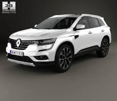 renault koleos 2017 interior renault koleos 2016 3d model hum3d