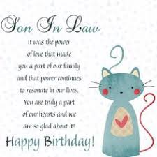 happy birthday wishes for son in law u2013 birthday images messages