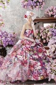 wedding dress colors stella de libero color wedding dresses colorful weddings