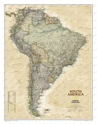 Central America And The Caribbean Physical Map by Central And Southamerica