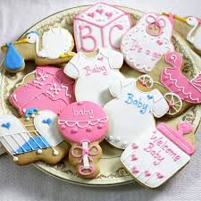baby shower cookies designer baby shower cookies