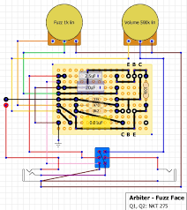 fuzz face wiring diagram wiring diagram and schematic diagram images