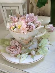 Shabby Chic Flower Arrangement by 616 Best Flowers In A Teacup Images On Pinterest Flowers Teacup