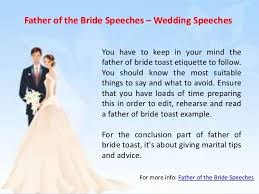 What To Say At Of The Speeches Wedding Speeches