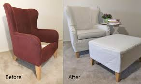 slipcover tutorial for chairs wingback chair slipcover diy wall mounted desk