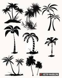 palm tree silhouette png clip art image ideas for the house