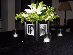 25th Wedding Anniversary Table Centerpieces by Diy Black And Silver Wedding Decorations Posted By Wedding Ideas