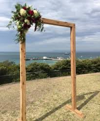 Wedding Arches Melbourne Rustic Wooden Wedding Arch Wedding Hire Melbourne U0026 Events