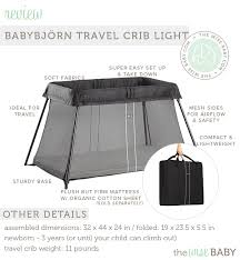Hawaii travel cribs images Babybj rn travel crib light review the wise baby jpg