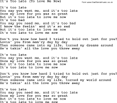 Count Your Blessings Lyrics And Chords Dolly Parton Song It S Late To Me Now Lyrics