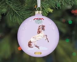 artist signature ornament mustang
