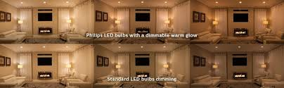 philips led 50w gu10 warm glow indoor flood bulb 2700k 2200k 3