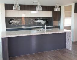 Grey Glass Backsplash by Glass Blog Backsplash Ideas Kitchens And Bathrooms Painted Glass