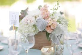 Wooden Centerpiece Boxes by Peach And Sage Wedding Inspiration Inspiration Photos Of The Day