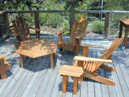 Ipe Adirondack Chairs  Other Ipe Outdoor Furniture - Ipe outdoor furniture