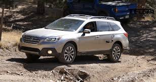 offroad subaru outback 2015 subaru outback 3 6r takes on tfl cliffhanger challenge video