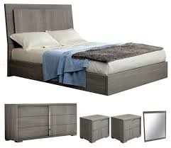 Bedroom Furniture Set Queen Alf Tivoli 5 Piece Bedroom Set Contemporary Bedroom Furniture