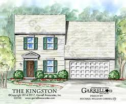 kingston house plans house plans by garrell associates inc