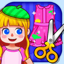make my own dress tailor kids design u0026 coloring games by toy box